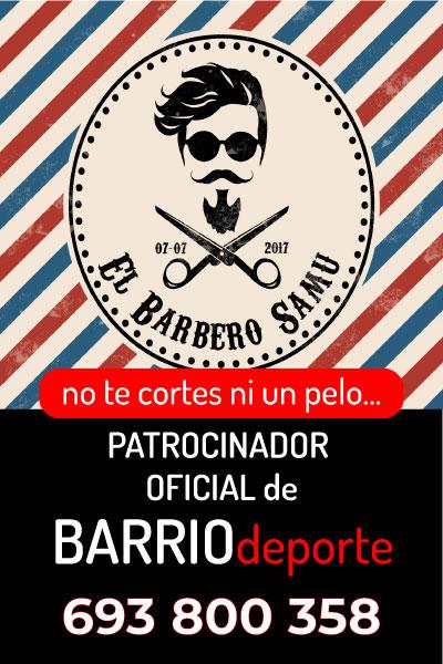 SAMU barbero, patrocinador oficial